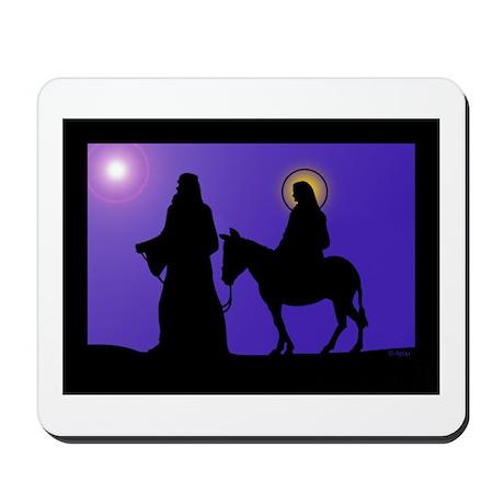 Mary & Joseph Mousepad