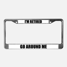 CALL GIFTS License Plate Frame