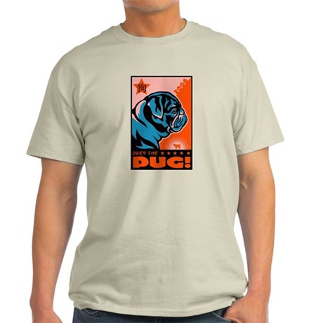 Year of the PUG! Ash Grey T-Shirt
