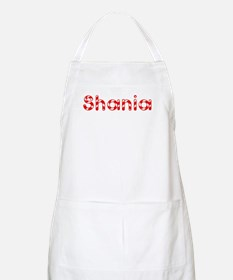 Shania - Candy Cane BBQ Apron