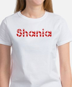 Shania - Candy Cane Women's T-Shirt