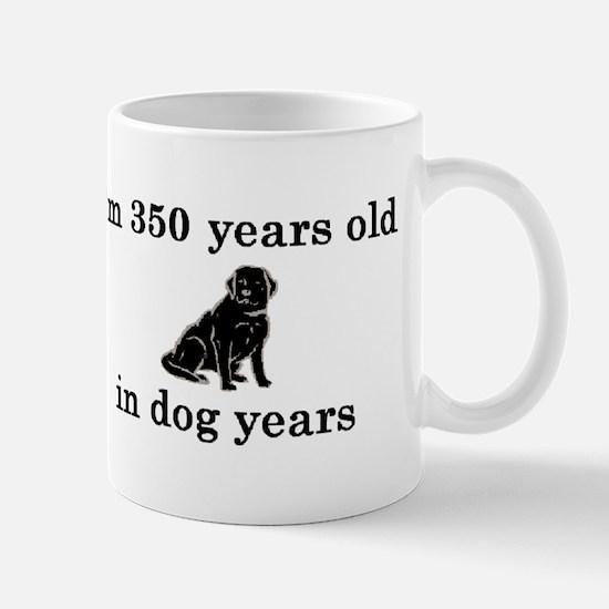 50 birthday dog years lab 2 Mug
