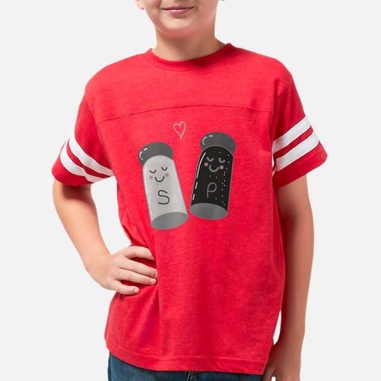 Salt & Pepper Youth Football Shirt