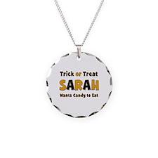Sarah Trick or Treat Necklace