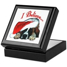 Saint I Believe Keepsake Box