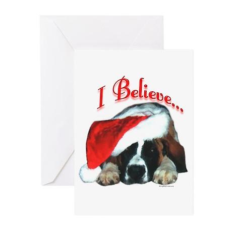 Saint I Believe Greeting Cards (Pk of 10)