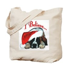 Saint I Believe Tote Bag