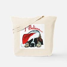 Saint I Believe Tote Bag