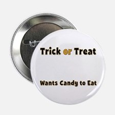 tot Trick or Treat Button