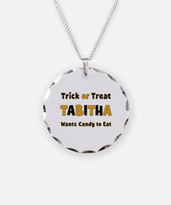 Tabitha Trick or Treat Necklace
