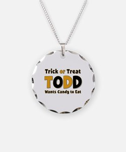 Todd Trick or Treat Necklace