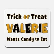 Valerie Trick or Treat Mousepad
