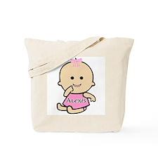 """Baby Alexis"" Tote Bag"