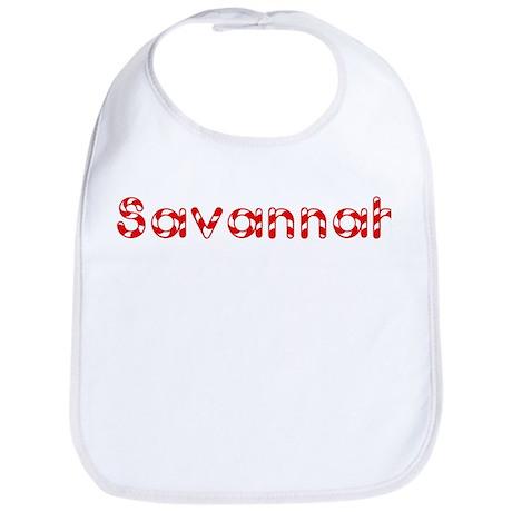 Savannah - Candy Cane Bib
