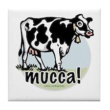 Love the Cow Italian Tile Coaster