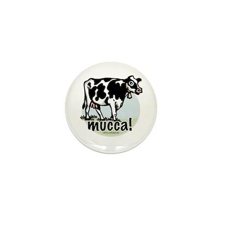 Love the Cow Italian Mini Button