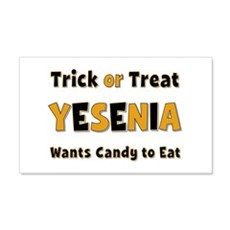 Yesenia Trick or Treat 20x12 Wall Peel