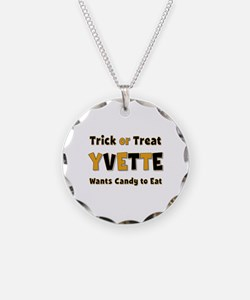 Yvette Trick or Treat Necklace