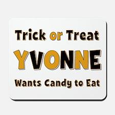 Yvonne Trick or Treat Mousepad