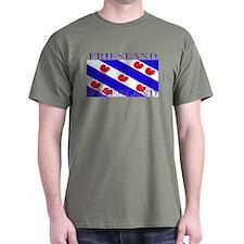 Friesland Frisian Flag Green T-Shirt