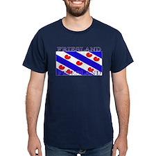 Friesland Frisian Flag Blue T-Shirt