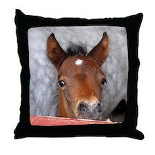 """Connemara Foal 2"" Throw Pillow"