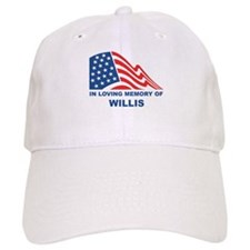 Loving Memory of Willis Baseball Cap