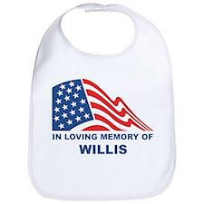 Loving Memory of Willis Bib