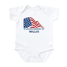 Loving Memory of Willis Infant Bodysuit