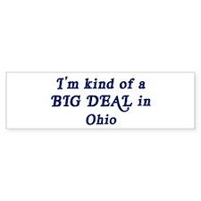 Big Deal in Ohio Bumper Bumper Sticker