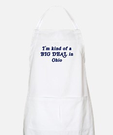 Big Deal in Ohio BBQ Apron