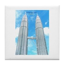 Malaysia Tower Tile Coaster