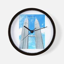Malaysia Tower Wall Clock
