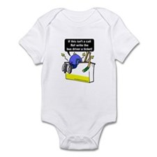 Jacked Up Hockey Infant Bodysuit
