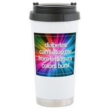 Colors Burst Travel Mug