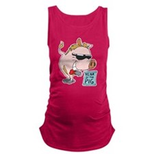 Year Of The pig Maternity Tank Top