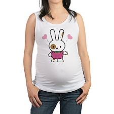 Cute Bunny Maternity Tank Top