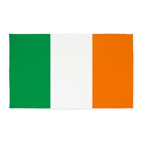 Flag of Ireland 3'x5' Area Rug