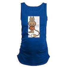 Cute Cartoon Rabbit Maternity Tank Top