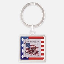 ABH Fort McHenry Square Keychain