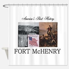 ABH Fort McHenry Shower Curtain