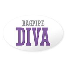 Bagpipe DIVA Decal