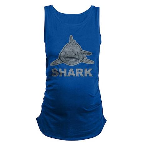 Vintage Shark Maternity Tank Top