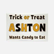 Ashton Trick or Treat Rectangle Magnet
