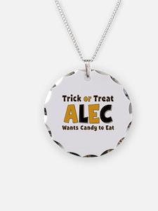Alec Trick or Treat Necklace