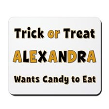Alexandra Trick or Treat Mousepad