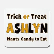 Ashlyn Trick or Treat Mousepad