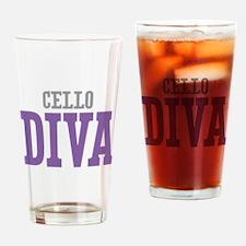 Cello DIVA Drinking Glass