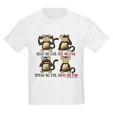 No Evil Fun Monkeys T-Shirt