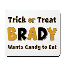 Brady Trick or Treat Mousepad